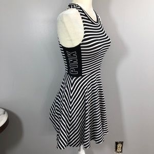Victoria's Secret PINK Dress size XS Black & White